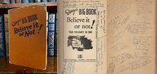 Ripley's Big Book SIGNED by 25 Ripley's Believe It or Not Odditorium Performers!