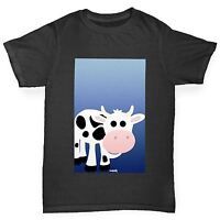 Twisted Envy Boy's Fat Cow Premium Cotton T-Shirt