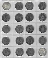 Lot 5,- DM Münzen