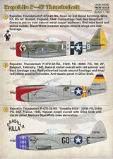 Print Scale 1/144 Republic P-47D Thunderbolt # 14405