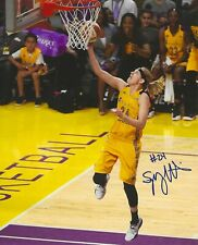 Sydney Wiese Signed 8x10 Photo Wnba Basketball Los Angeles Sparks Oregon State