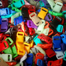 """26 3/8"""" Curved buckle for Paracord Bracelet Mix 12+ Colors DIY ~ Clasps Clips"""