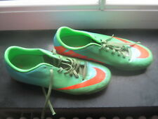 nike football boots mercurial 7 adult teen boy green blue orange astro turf sole