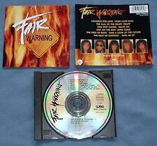 CD von  Fair Warning – Fair Warning