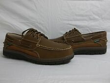 Eastland Size 10.5 M Exeter Peanut Leather Loafers New Mens Boat Shoes NWB