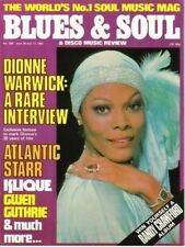 Dionne Warwick Blues & Soul Issue 359 1982  Atlantic Starr  Klique  Gwen Guthrie