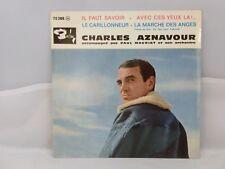 Charles Aznavour Accompagné Par Paul Mauriat Et Son Orchestre – Il Faut Savoir