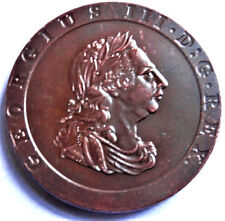 1797 GEORGE III 'CARTWHEEL' 2 PENNY EXONUMIA COPPER COLLECTORS COIN FULL SIZE