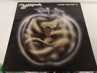 Vintage Vinyl LP Whitesnake come an get it metal 1980 liberty lbg30327 a1u