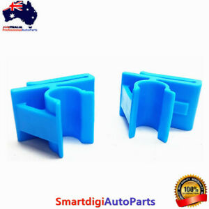 2x Blue Lower Glove Box Clips Kit for Holden Commodore VZ VY WK WL Modified Fix