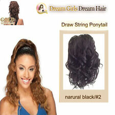 Drawstring Synthetic Wavy Hair Extensions