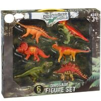 Dinosaurio Figuras Mundo Infantil Set de 6 Estatuillas Dino Juguete Age 3+