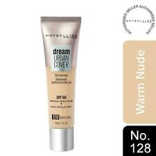 Maybelline Dream Urban Cover SPF50 All-In-One Protective Makeup, 128 Warm Nude