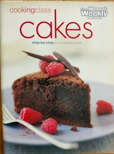 Australian Women's Weekly ~ COOKING CLASS CAKES ~Triple Tested recipes~2001~VGC
