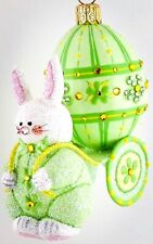 Patricia Breen Spring Delivery Green 2010 Neiman Marcus #3031 4� Jeweled Bunny
