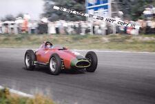 9x6 fotografia, PETER COLLINS, LANCIA-FERRARI 801, ITALIANO Grand Prix 1957