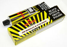 Black Stove Polish & Grate Polish - Also For Chimineas - 75ml Tube - Hotspot