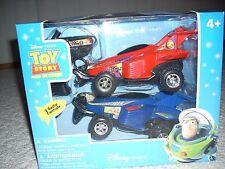 New Disney Pixar Toy Story Radio Control  Buzz Lightyear and Zurg Space Racers