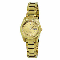 Seiko 5 Automatic Gold-Tone Stainless Steel Ladies Watch SYMK20