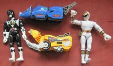 Power Rangers Mighty Morphin Triceratops  and Sabertooth Tiger with Two Rangers