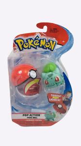 Pokemon Pop Action Poke Ball Soft Toy Launcher Bulbasaur
