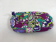 NWOT Vera Bradley  Cosmetics Bag with Front Mirror in Heather