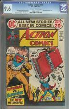 ACTION COMICS #414 CGC 9.6 METAMORPHO BACKUP STORY