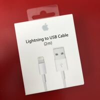 Genuine 2M Apple Lightning USB Charger Lead Cable For iPhone 7 iPhone 7 Plus