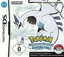 Nintendo DS (2DS/3DS) Spiel - Pokemon Soul Silver Edition / Soulsilver Version
