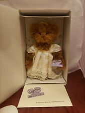 Annette Funicello Starla Angel Ivory Mohair Bear Mint! Never displayed!