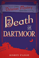 Death at Dartmoor by Robin Paige - Brand New Book