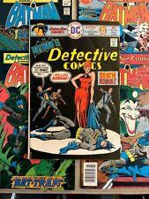 DETECTIVE COMICS BATMAN LOT (5) 456 530 532 534 551FN-VF