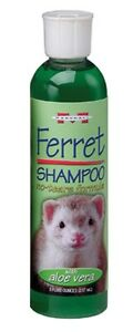 Marshall Ferret Shampoo with Aloe Vera 8oz bottle Free Shipping