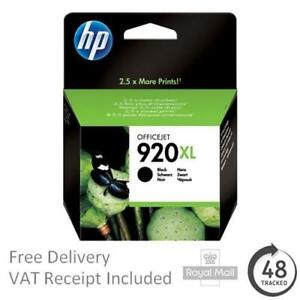 Original HP 920XL Black Ink Cartridge - CD975AE