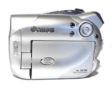 VIDEOCAMERA CANON PAL DC100 DVD CAMCORDER 25X ZOOM  LCD TFT COLOR 2.6-65MM 1:1.8