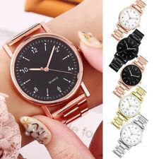 Women Ladies High-end Quartz Watch Stainless Steel Luminous Dial Leisure Watches