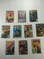 Lot Of 10 DC Comics Starman Suicide Squad Vigilante Hardware New God's Firestorm