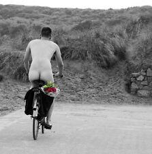 Cámara bolsa ciclismo tarjeta de felicitación en blanco dentro de Santo caballa las tarjetas de saludos