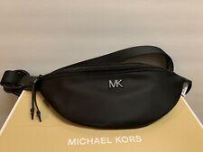 NWT - Michael Kors Black/Optic White Nylon Sport Belt Bag