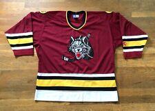 Vintage 1994 Chicago Wolves STARTER IHL AHL Hockey Sewn Jersey Size XL