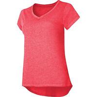 $25 Champion Womens Gear Authentic Wash V-Neck T-Shirt-Large,ORANGE