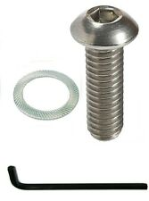 "PISTOL GRIP SCREW STAINLESS with WRENCH button 1"" 223 5.56 308 7.62 300 magpul"