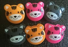 6 Bag Clips Cat Kitten Themed Home Decor Kitchen Chip Clip Sealing Food Bags