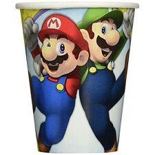 Amscan 581554 266 Ml Super Mario Paper Cups