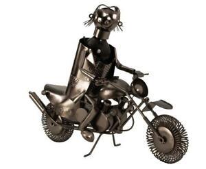 Wine Bottle Holder XL Motorcycle Metal Bike Moped