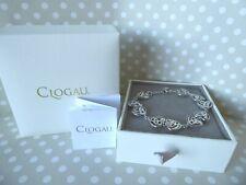 "Clogau Gold, Silver & Rose Gold Eternal Love Diamond Bracelet 7 1/4"" RRP £310"