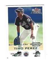 Timo Perez 2001 Fleer Focus Green Parallel Cd. # 223 . # 117/286