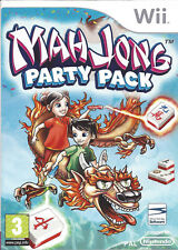 MAHJONG PARTY PACK for Nintendo Wii - with box & manual - PAL