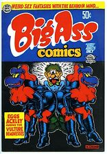 BIG ASS COMICS (#1) - Comix - Crumb - 5th printing