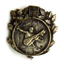 Spilla Ginnasta (Picchiani E Barlacchi Firenze) cm 2,8 x 2,8